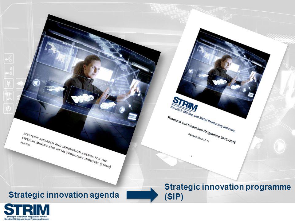 Strategic innovation programme (SIP)