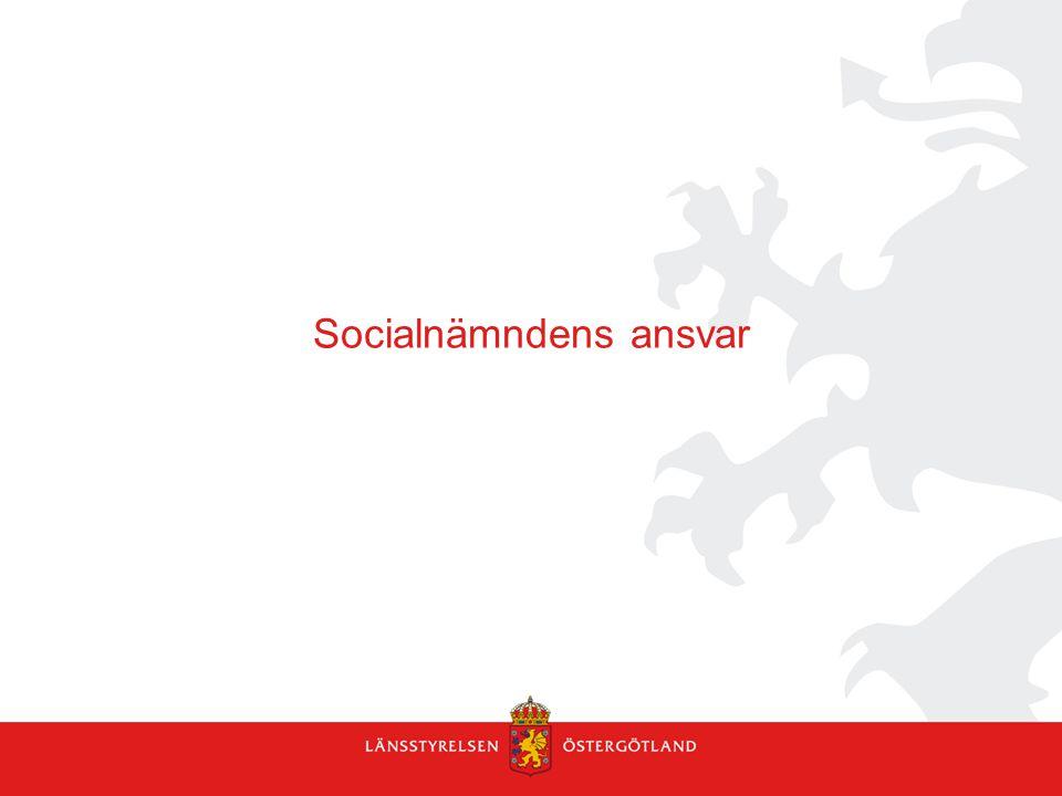 Socialnämndens ansvar