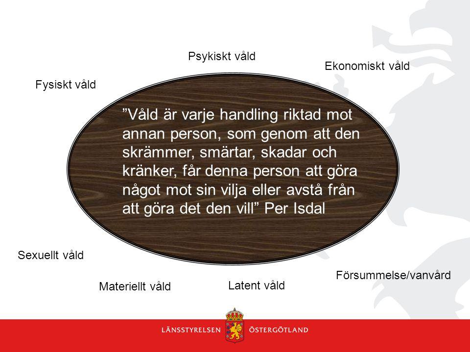 Psykiskt våld Ekonomiskt våld. Fysiskt våld.