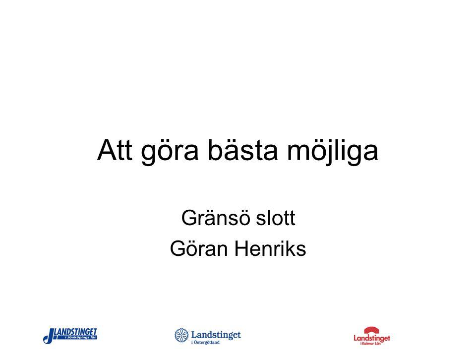 Gränsö slott Göran Henriks