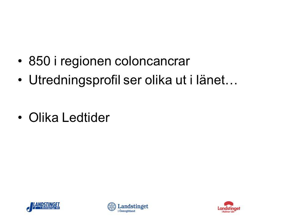 850 i regionen coloncancrar