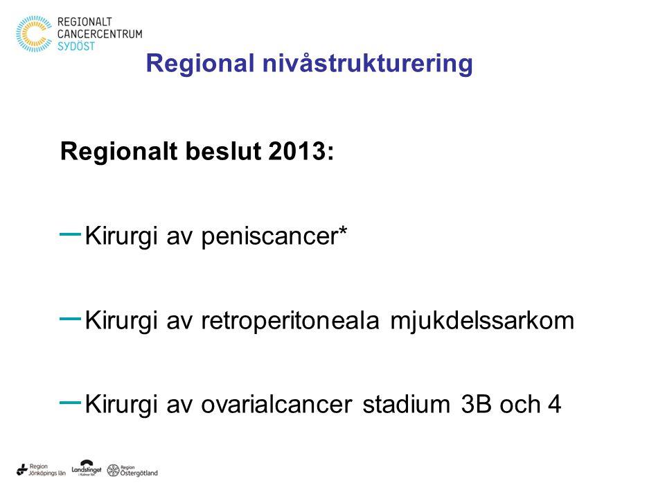 Regional nivåstrukturering