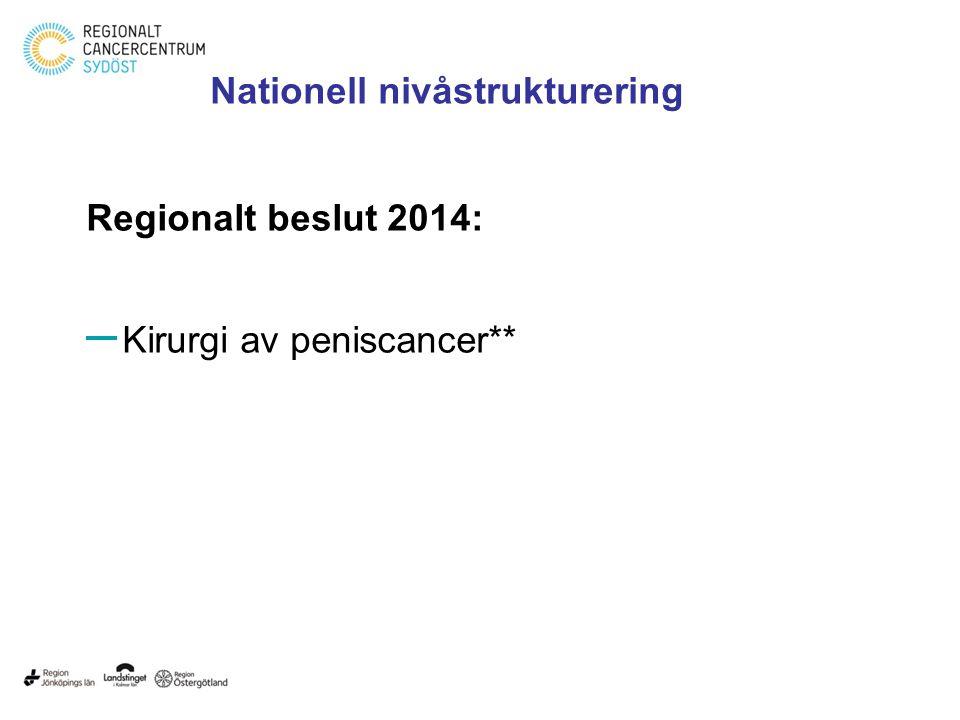 Nationell nivåstrukturering