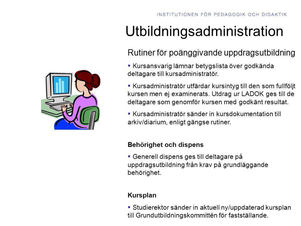 Utbildningsadministration