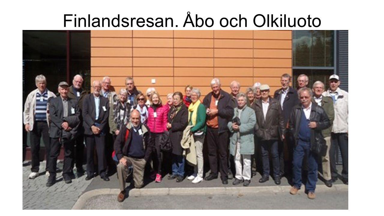 Finlandsresan. Åbo och Olkiluoto