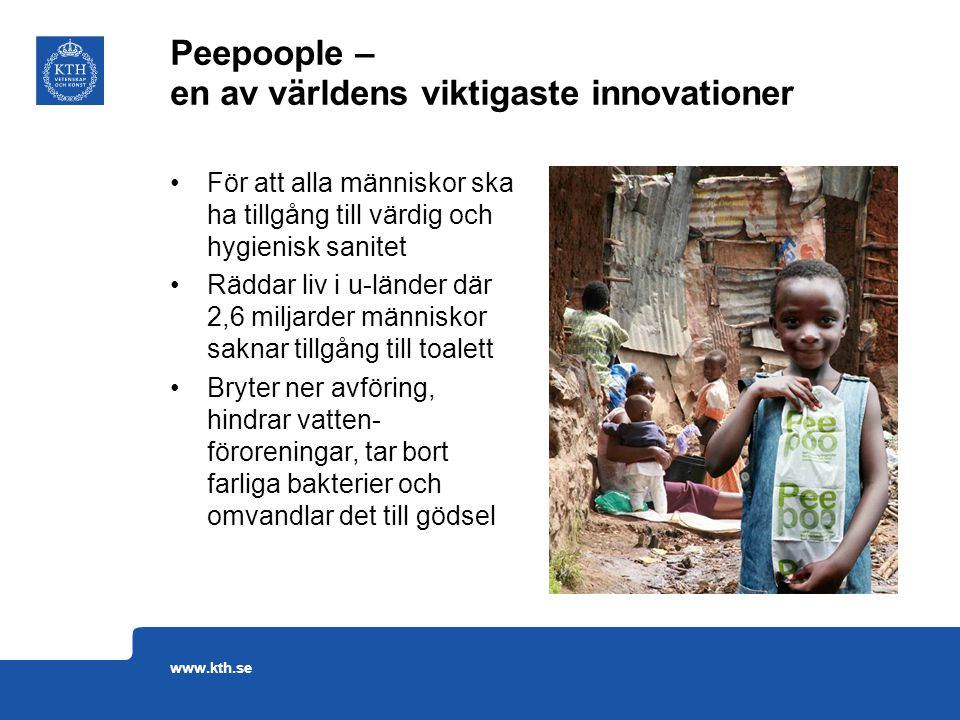 Peepoople – en av världens viktigaste innovationer