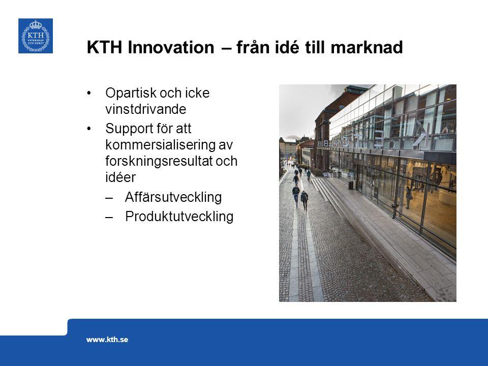 KTH Innovation – från idé till marknad