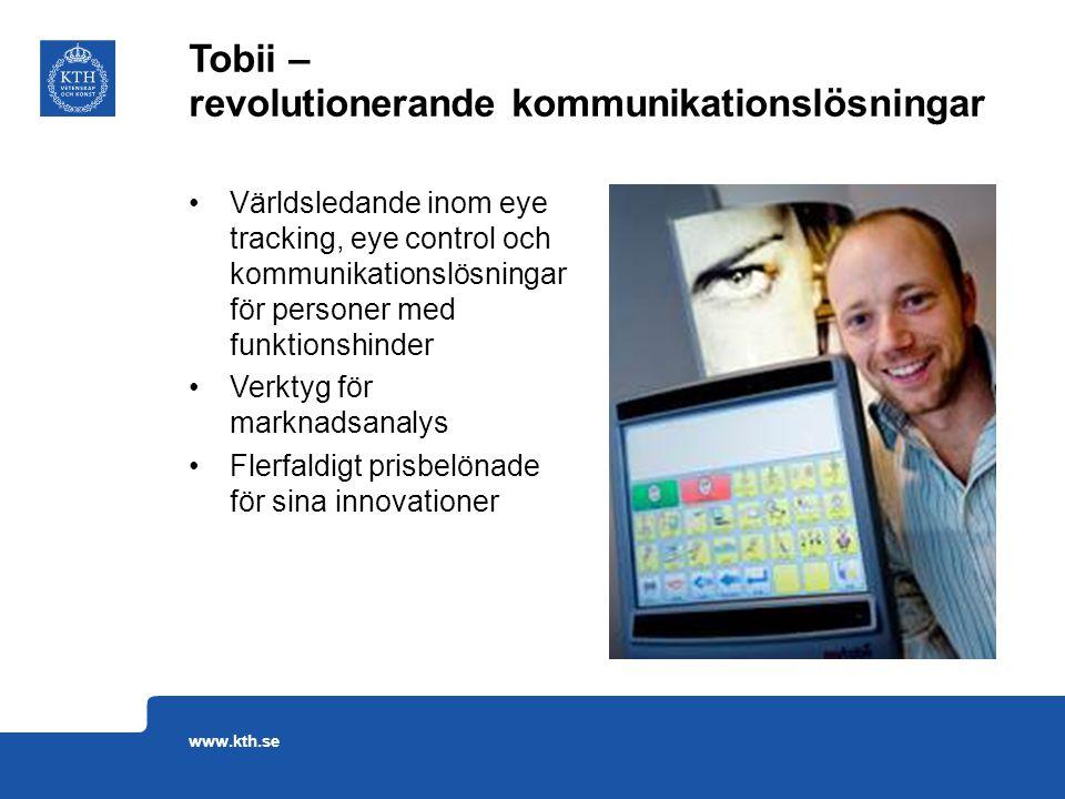 Tobii – revolutionerande kommunikationslösningar
