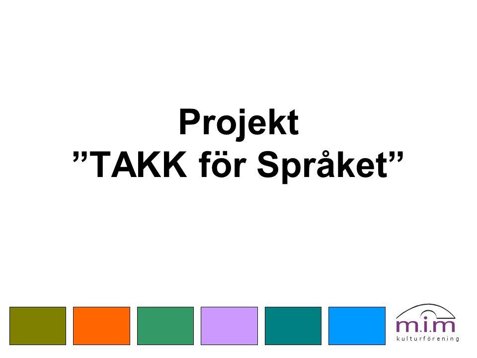 Projekt TAKK för Språket