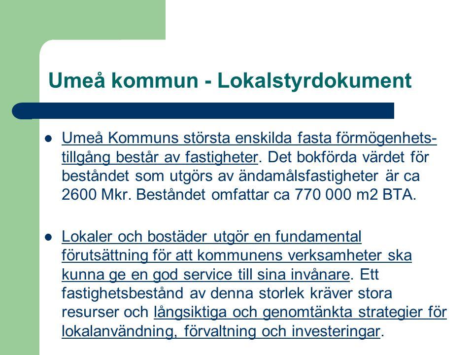 Umeå kommun - Lokalstyrdokument