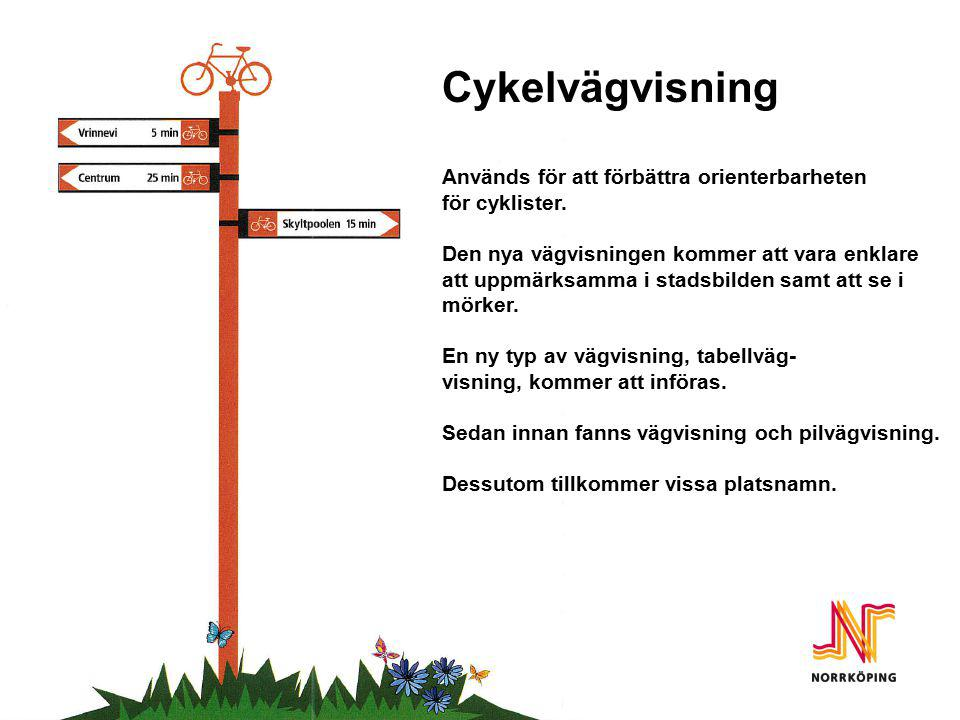 Cykelvägvisning