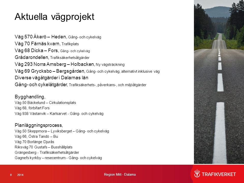 Aktuella vägprojekt Väg 570 Åkerö – Heden, Gång- och cykelväg
