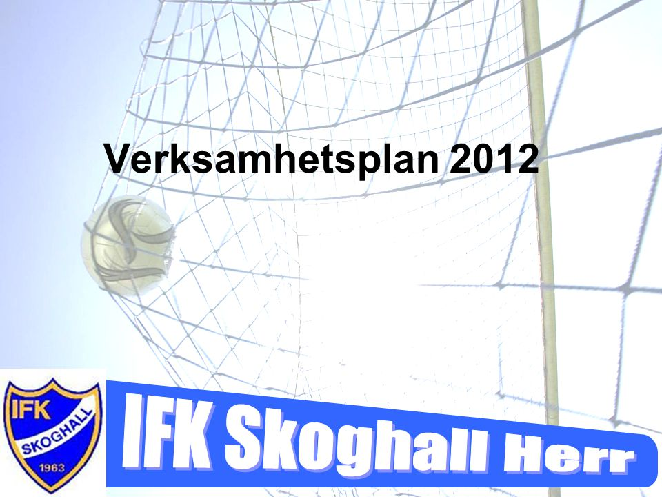 Verksamhetsplan 2012