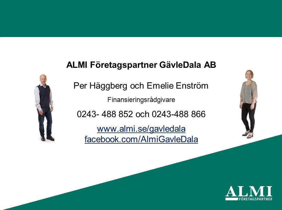 ALMI Företagspartner GävleDala AB