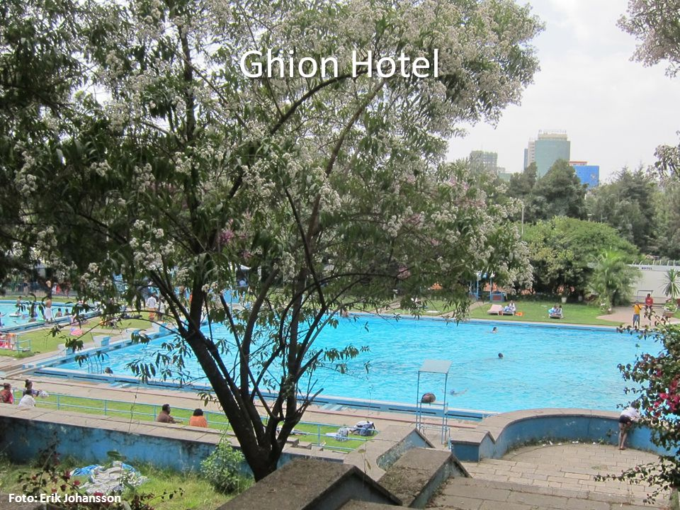 Ghion Hotel Foto: Erik Johansson