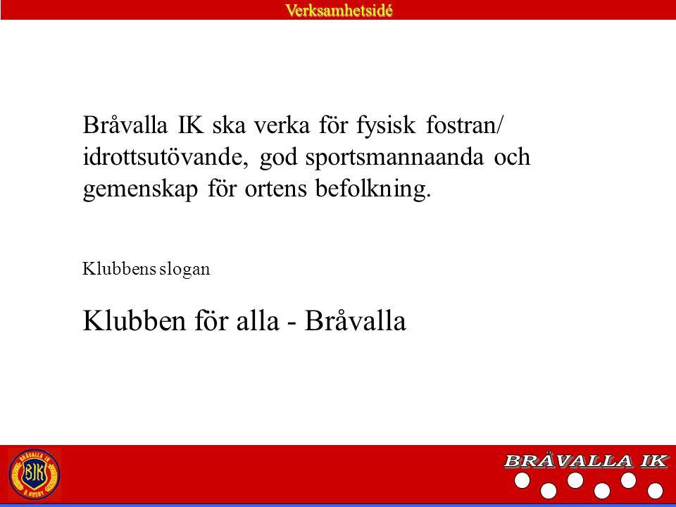 BRÅVALLA IK Klubben för alla - Bråvalla