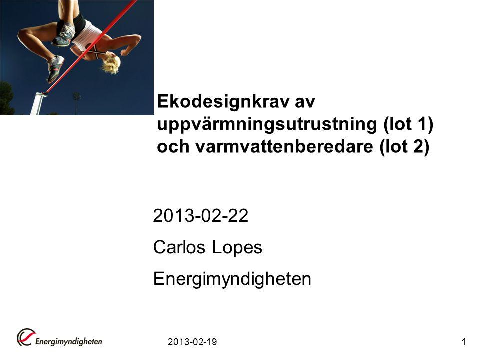 2013-02-22 Carlos Lopes Energimyndigheten