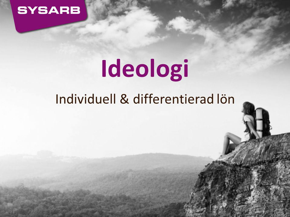 Individuell & differentierad lön