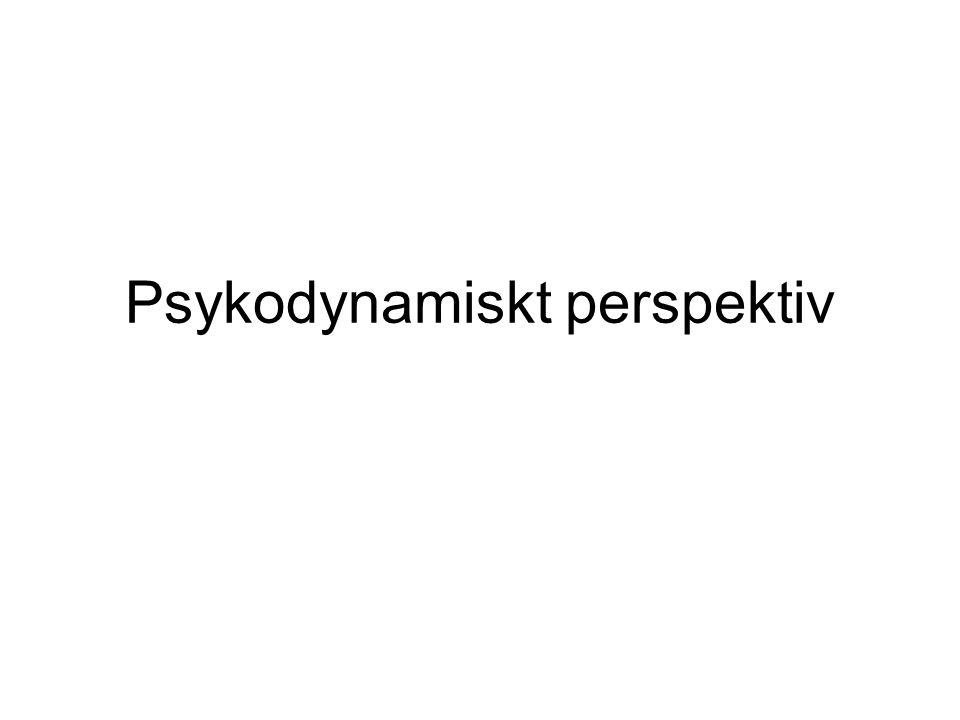 Psykodynamiskt perspektiv