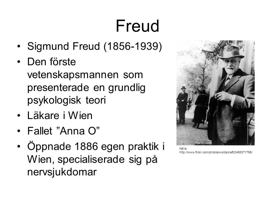 Freud Sigmund Freud (1856-1939)