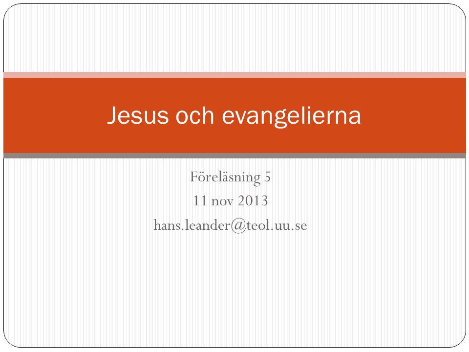 Jesus och evangelierna