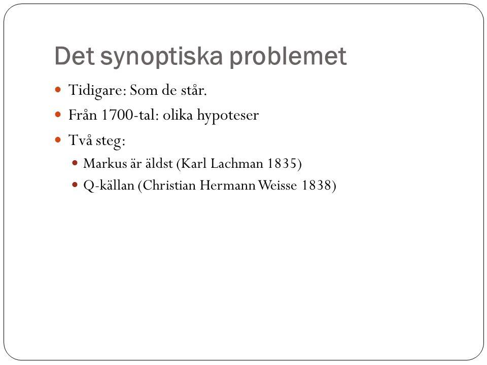 Det synoptiska problemet