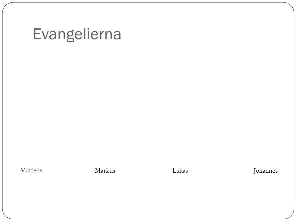 Evangelierna Se Upp 4:7 Matteus Markus Lukas Johannes