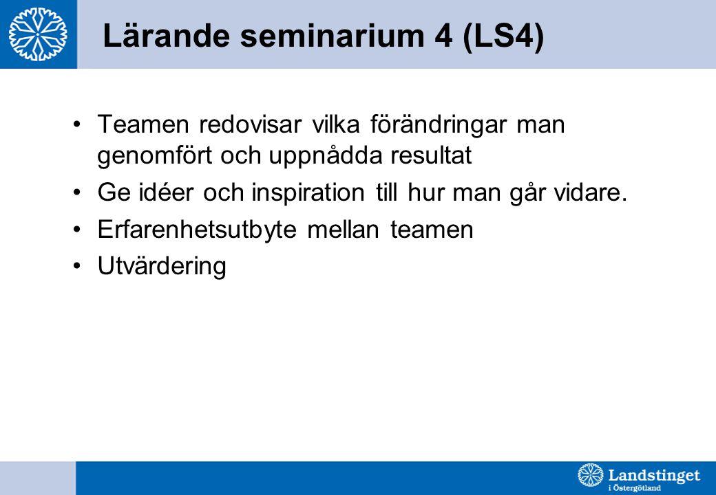 Lärande seminarium 4 (LS4)