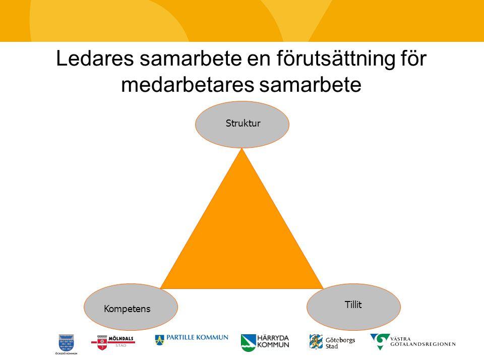 Ledares samarbete en förutsättning för medarbetares samarbete