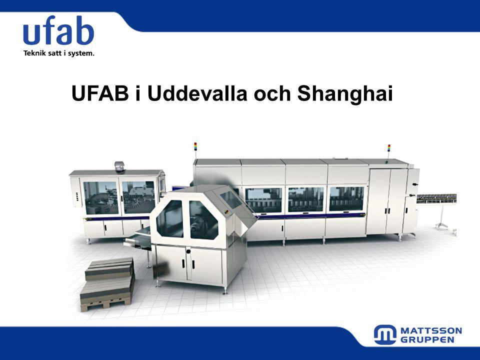 UFAB i Uddevalla och Shanghai