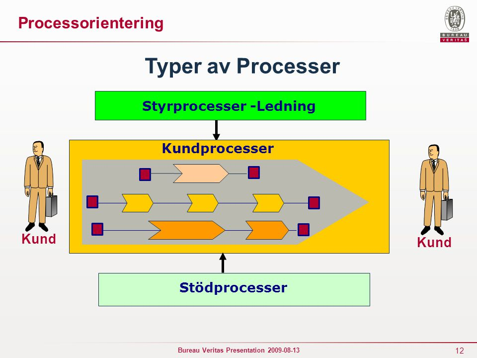 Styrprocesser -Ledning