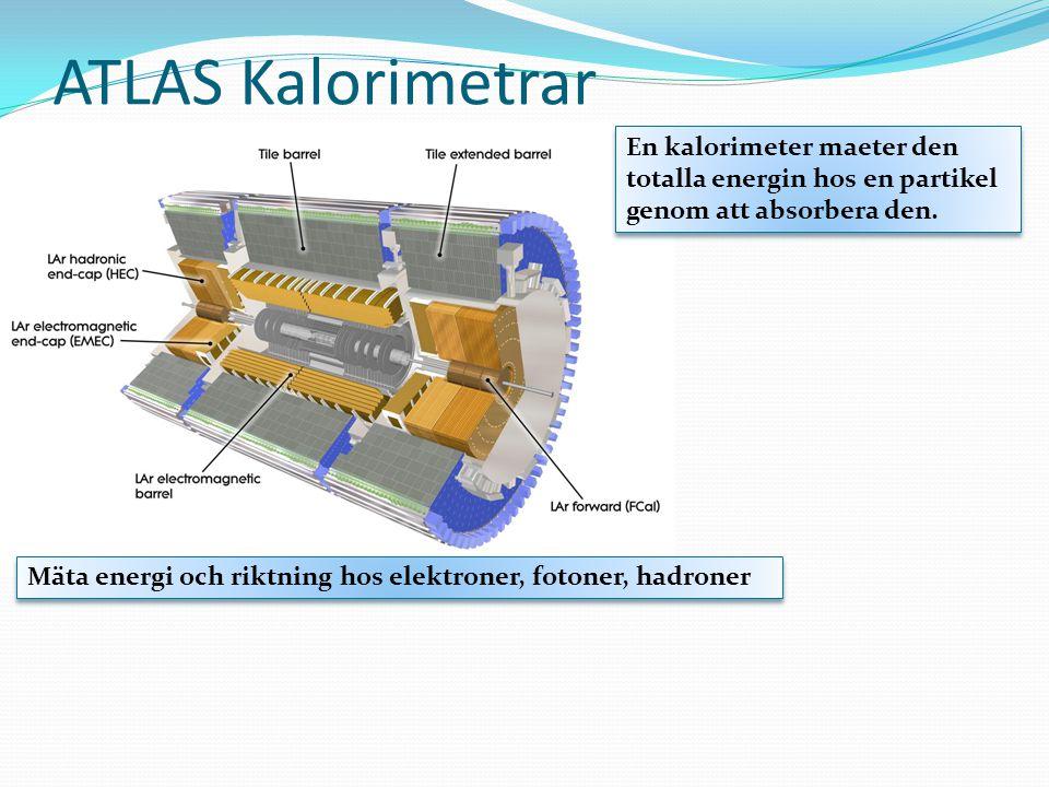 ATLAS Kalorimetrar En kalorimeter maeter den