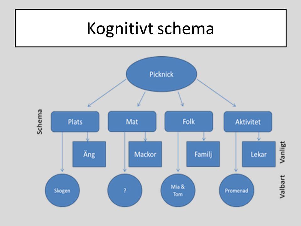 Kognitivt schema