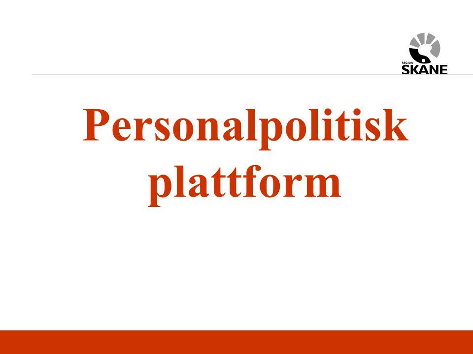Personalpolitisk plattform