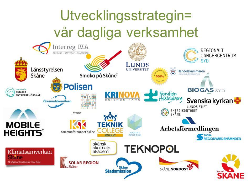 Utvecklingsstrategin= vår dagliga verksamhet
