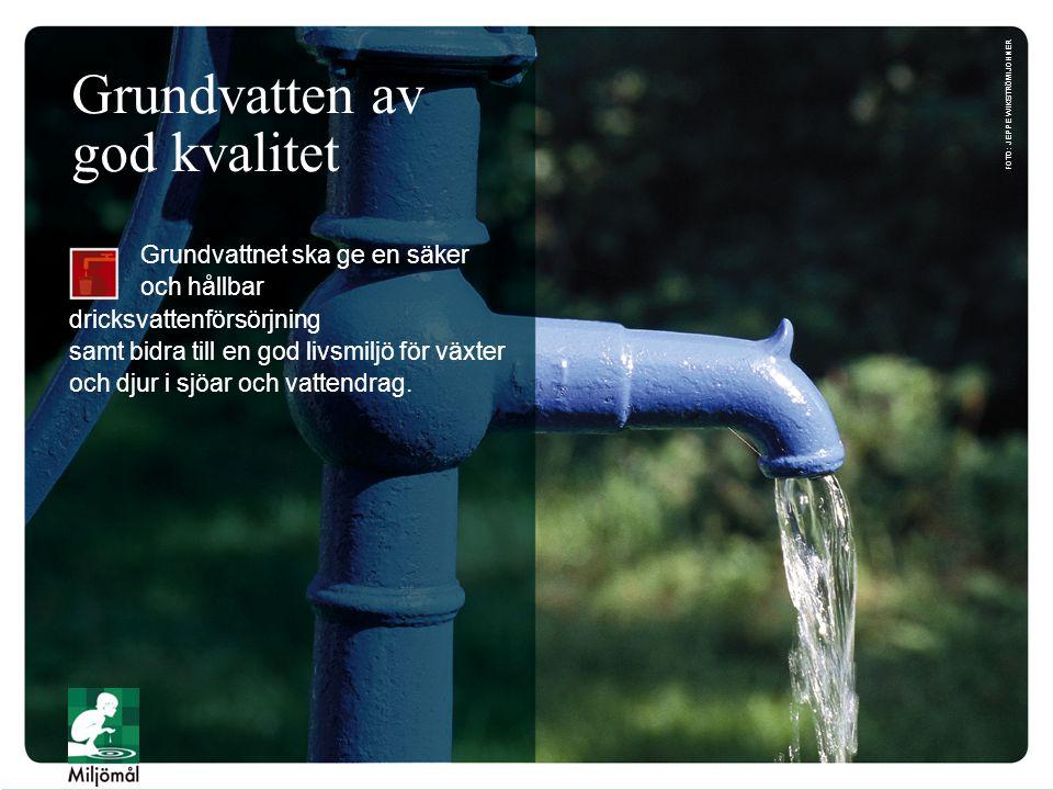 Grundvatten av god kvalitet