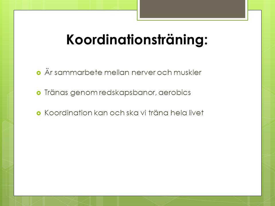 Koordinationsträning: