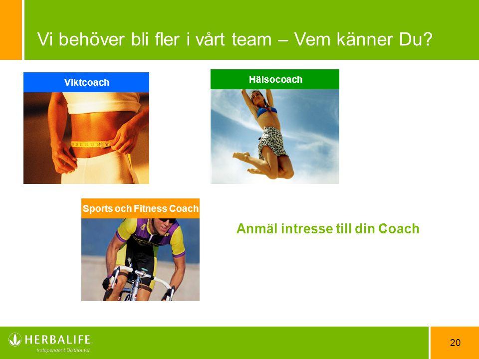 Sports och Fitness Coach