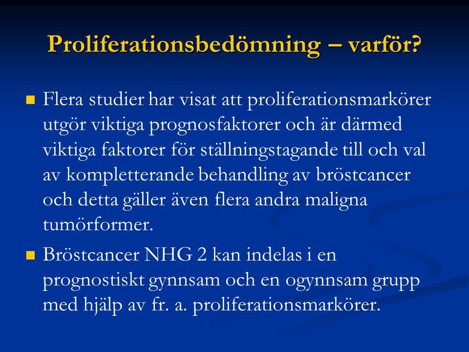 Proliferationsbedömning – varför
