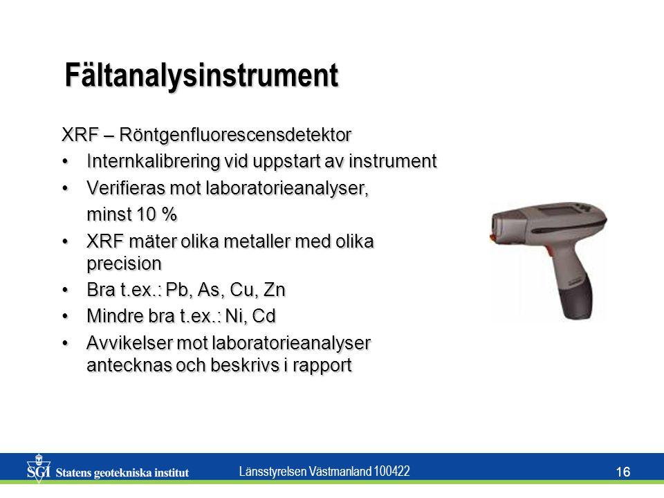 Fältanalysinstrument