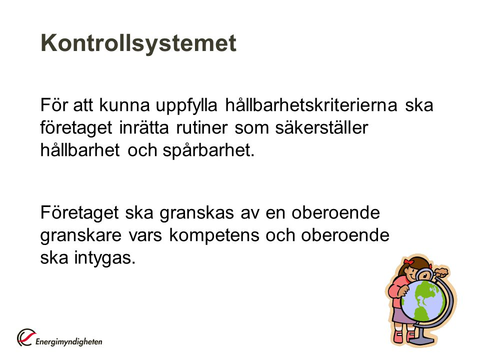 Kontrollsystemet