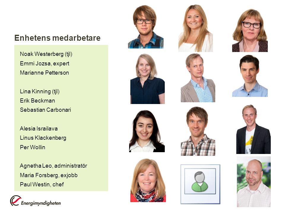 Enhetens medarbetare Noak Westerberg (tjl) Emmi Jozsa, expert