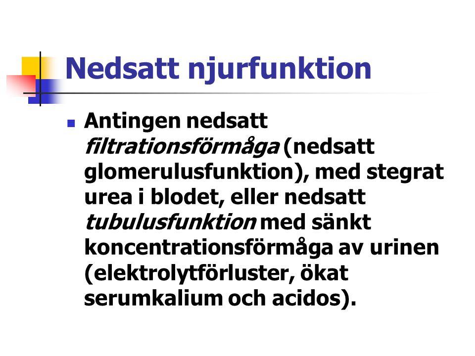 Nedsatt njurfunktion