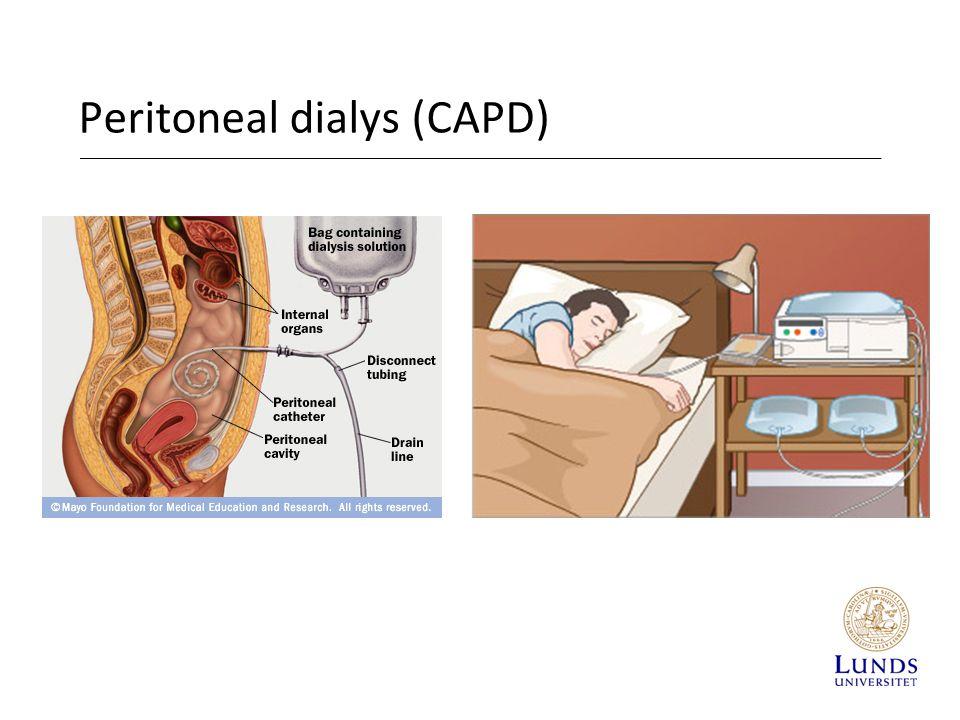 Peritoneal dialys (CAPD)