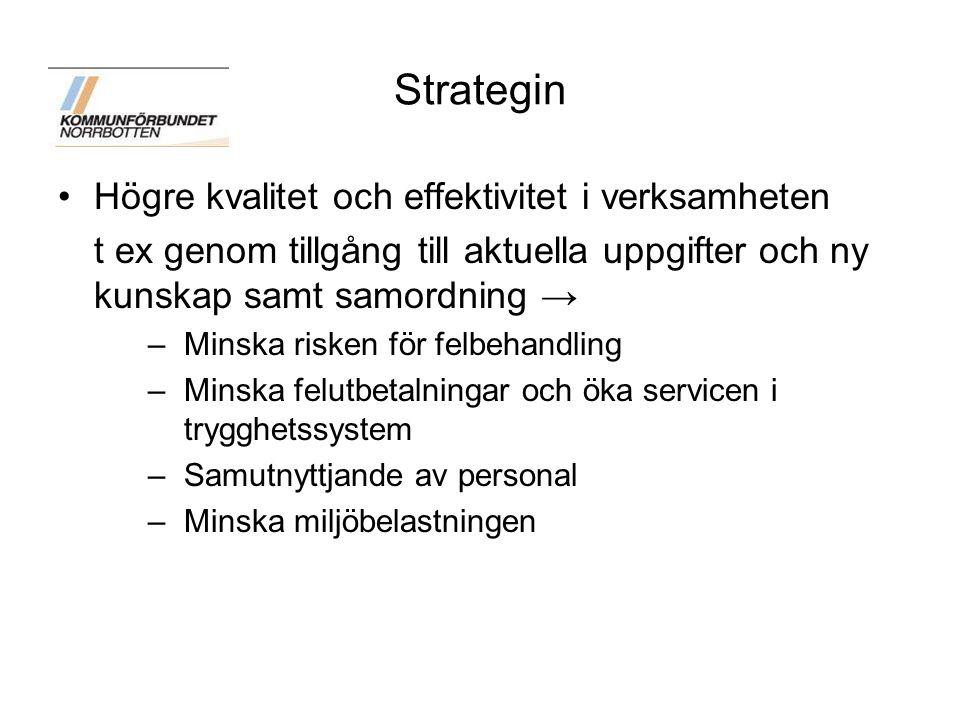 Strategin Högre kvalitet och effektivitet i verksamheten