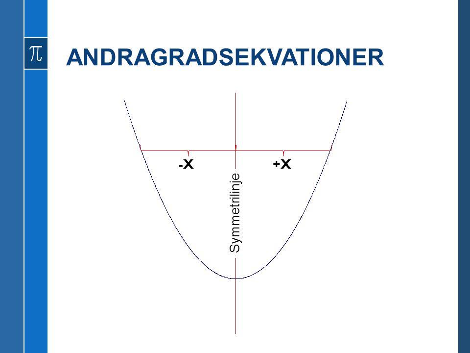ANDRAGRADSEKVATIONER