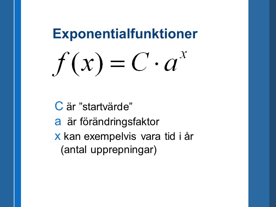 Exponentialfunktioner