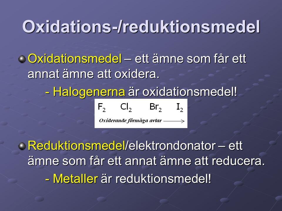 Oxidations-/reduktionsmedel