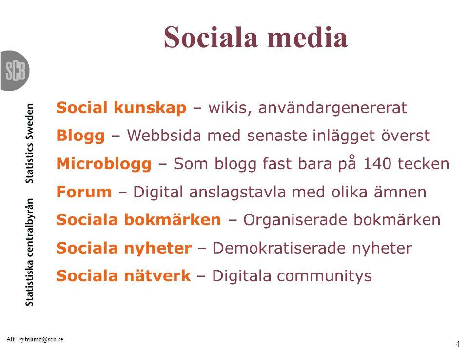 Sociala media Social kunskap – wikis, användargenererat