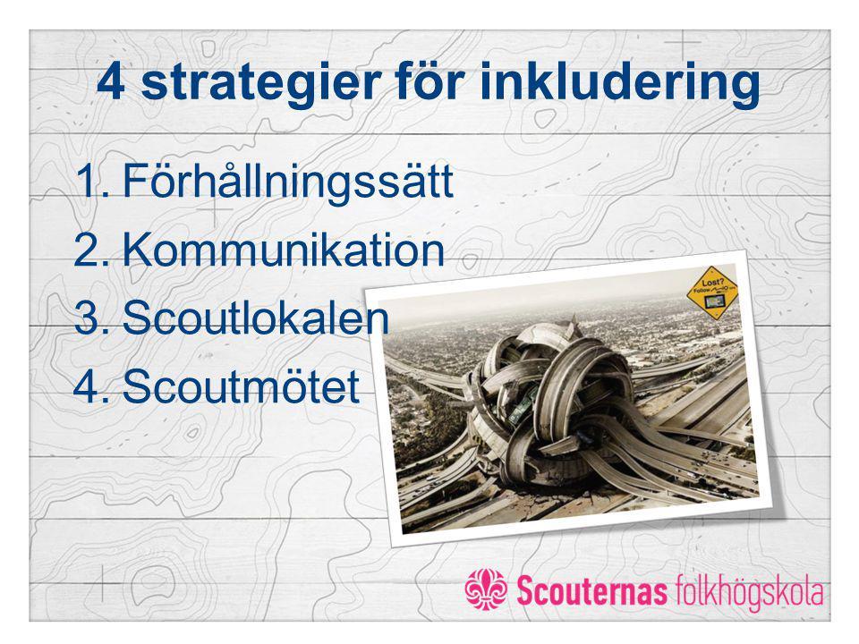4 strategier för inkludering